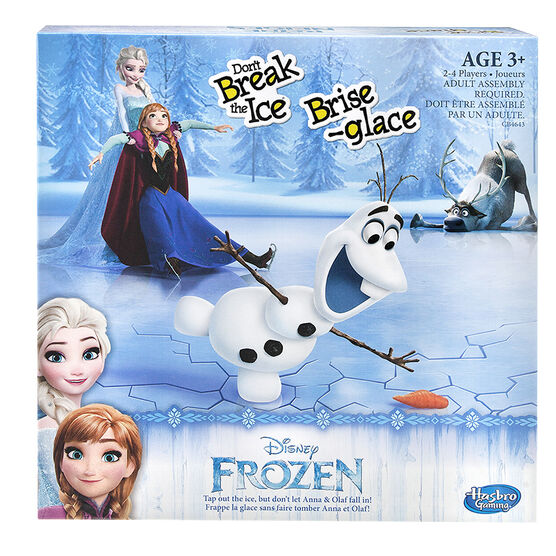 Frozen - Don't Break the Ice Game