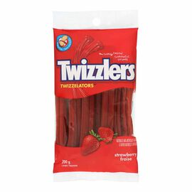 Twizzlers Twizzelators - Strawberry - 200g
