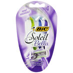 BIC Soleil Bella Disposable Shaver for Women - 3's