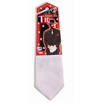 Halloween Gangster White Tie