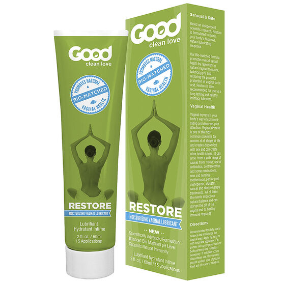 Good Clean Love Bio-Match Restore Moisturizing Vaginal Lubricant - 60ml
