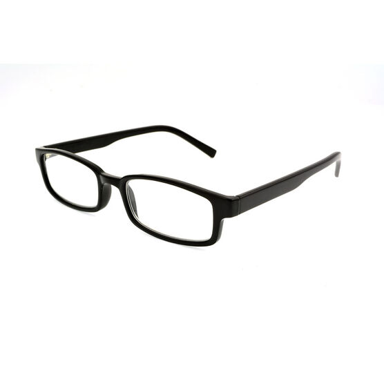 Foster Grant Carter Reading Glasses - Black - 1.25