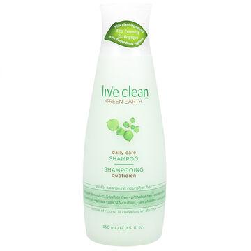 Live Clean Green Earth Invigorating Shampoo - 350ml
