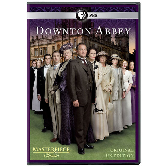 Downton Abbey Season 1 - U.K. Edition - DVD