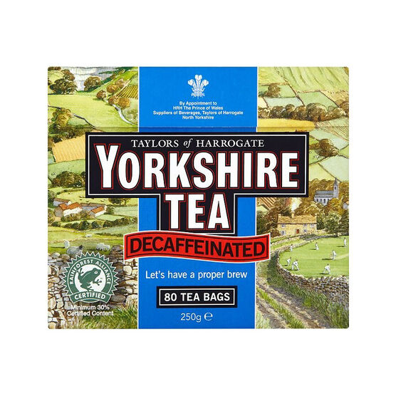 Yorkshire Decaf Tea - 80's