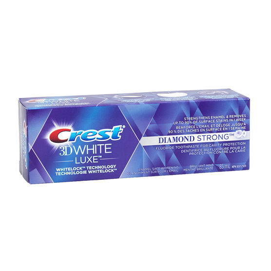 Crest 3D White Luxe Toothpaste - Diamond Strong - 85ml