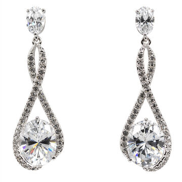 Eliot Danori Ondine CZ Drop Earrings