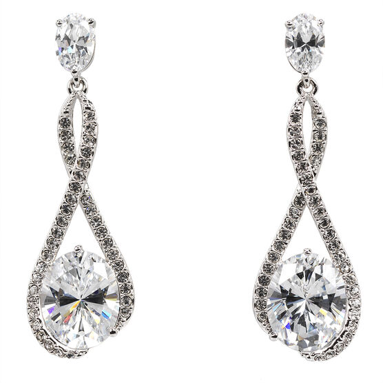 Eliot Danori Ondine CZ Drop Earrings