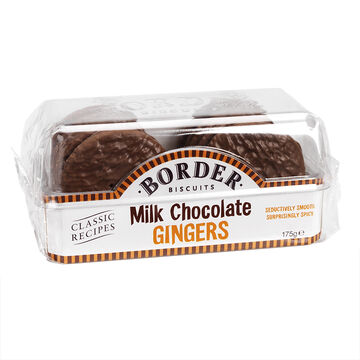 Border Biscuits - Milk Chocolate Gingers - 175g