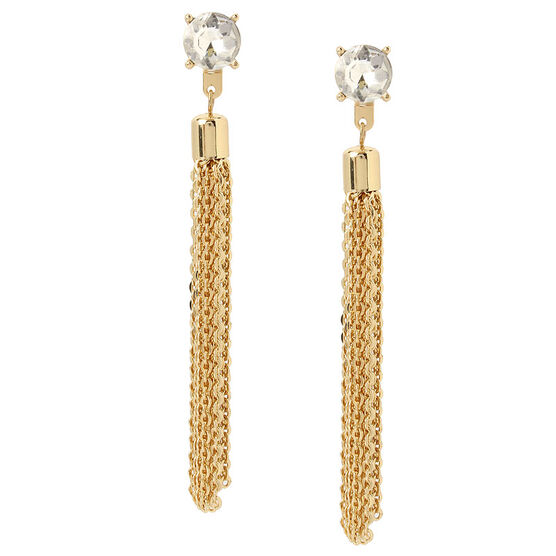Haskell Fringe Earrings - Gold