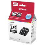 Canon PGI-225 Twin Pack Ink Cartridges - Black - 4530B014