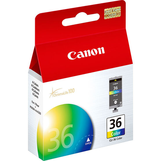 Canon CLI-36 Ink Cartridge - Color - 1511B002