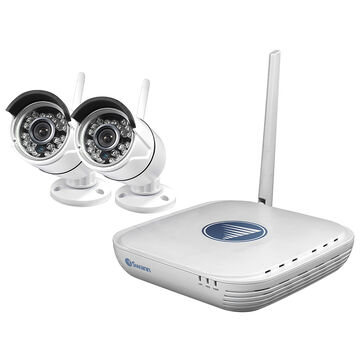 Swann WiFi DVR Security Kit with 2 Cameras - SWNVK-460KH2-US