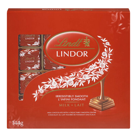 Lindt Lindor Square Milk Chocolate - 144g