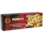 Walkers Shortbread Cookies - Chocolate Chip - 125g