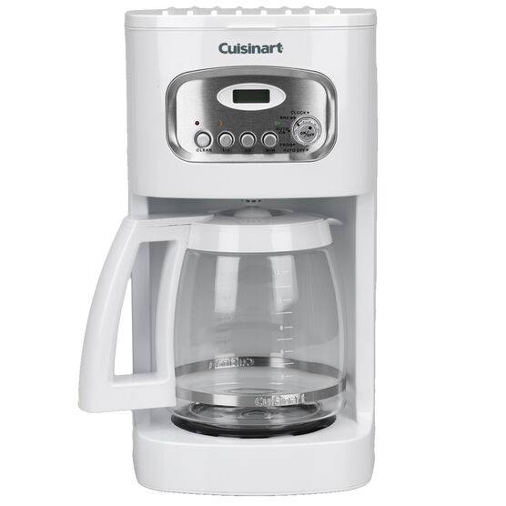 Cuisinart Coffee Maker In White : Cuisinart 12 Cup Classic Programmable Coffee Maker - White - DCC1100C London Drugs