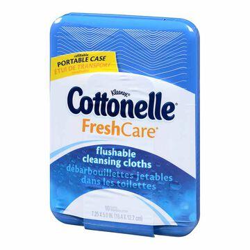 Cottonelle Moist Wipes - 10's