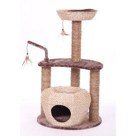 Jupiter Cobra Cat Tree - Natural/Brown - 4235
