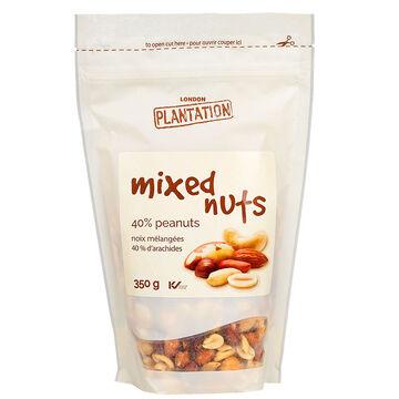 London Plantation Mixed Nuts - 40% Peanuts - 350g