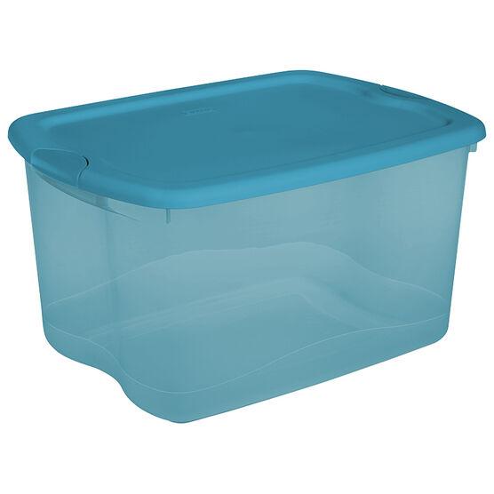 Sterilite Latch Box - Blue - 62.5L