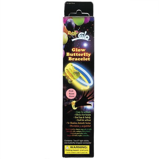 Pop Glo Glow Butterfly Bracelet - Assorted