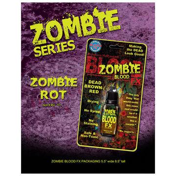 Halloween Zombie Blood FX - Dead Brown/Red