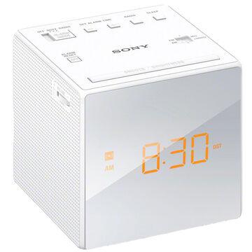 Sony AM/FM Alarm Clock - White - ICFC1W