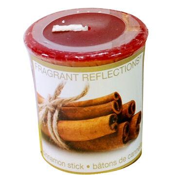 Fragrant Reflection Votive Candle - Cinnamon Sticks