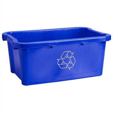 Scepter Recycling Bin - Blue - 17L