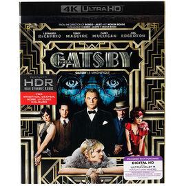 The Great Gatsby (2013) - 4K UHD Blu-ray