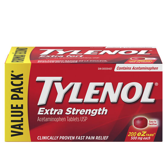 Tylenol* Extra Strength Tablets - 200's