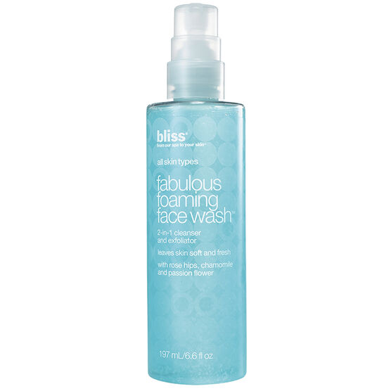 Bliss Fabulous Foaming Face Wash - 200ml