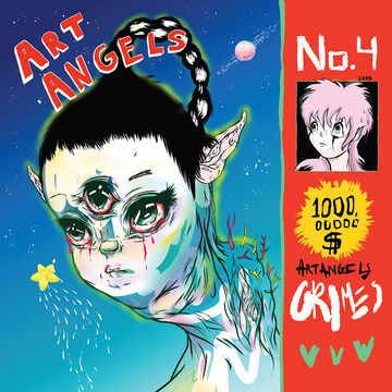 Grimes - Art Angels - CD