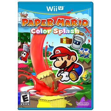 Wii U Paper Mario Color Splash