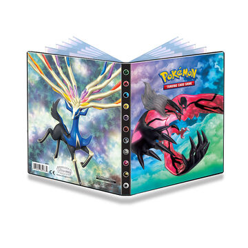 Pokemon XY2 4-Pocket Portfolio - Assorted