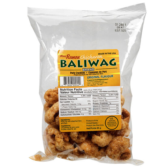 Mang Ramon Pork Cracklins - Original - 85g