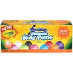 Crayola Washable Kids Paint - Neon Colours - 10 pack