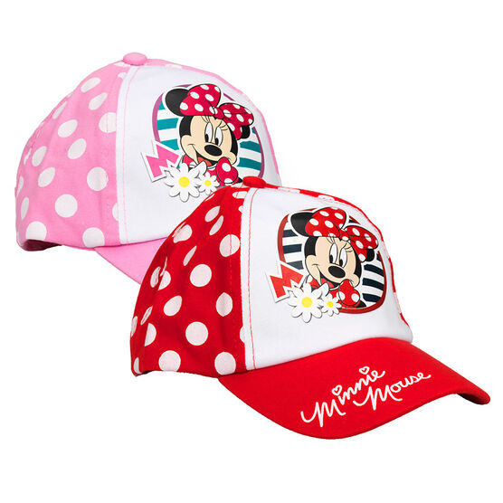 Minnie Baseball Cap - Assorted - 2-3X