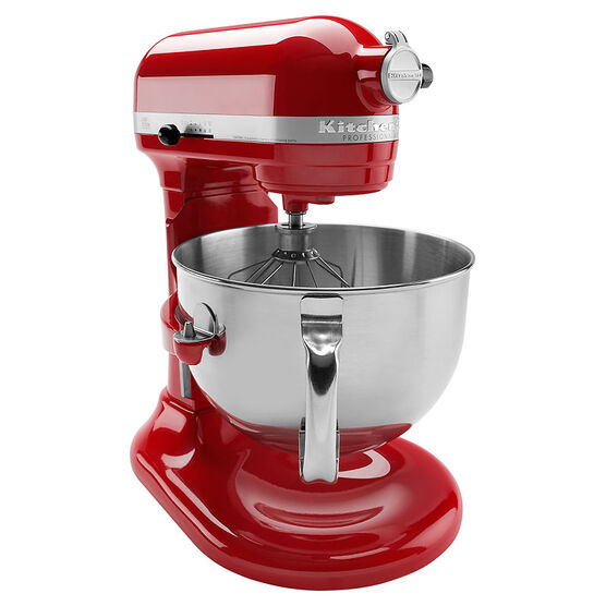 KitchenAid Pro 600 Series 6 quart Stand Mixer - Empire Red - KP26M1XER