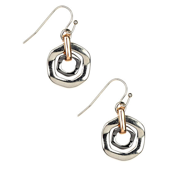 Nine West Orbital Drop Earrings