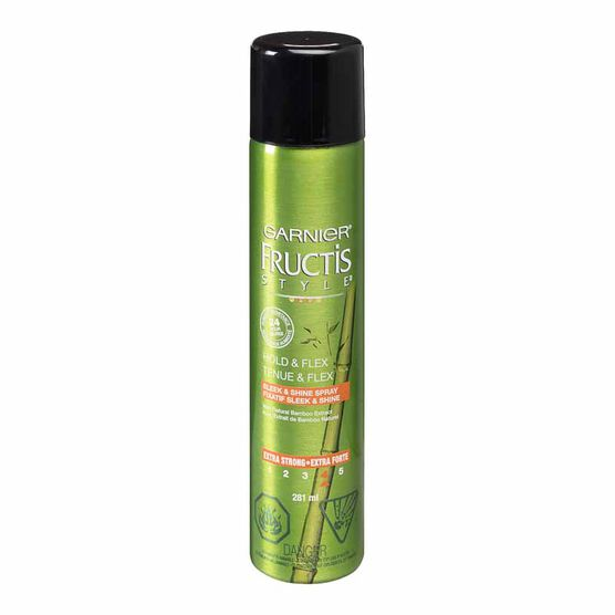 Garnier Fructis Style Hold & Flex Anti-Frizz Spray - 281ml