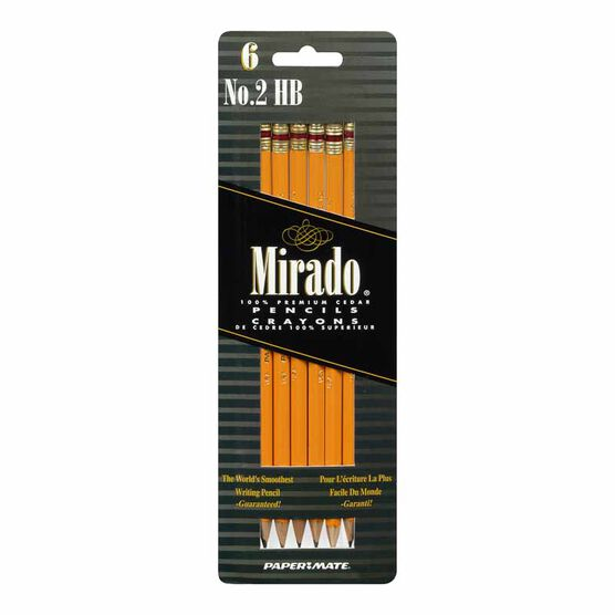 Mirado No.2 HB Pencils - 6 pack