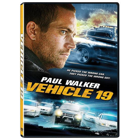 Vehicle 19 - DVD