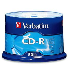 Verbatim CD-R 700MB Spindle - 50 pack