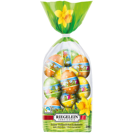 Riegelein Chocolate Easter Egg Bag - 200g
