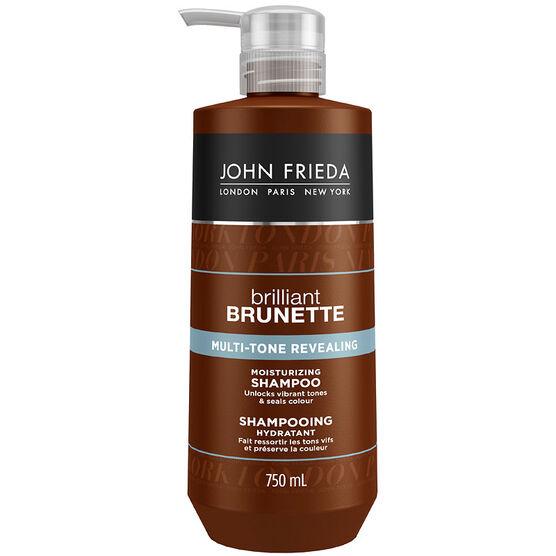 John Frieda Brilliant Brunette Multi-Tone Revealing Shampoo - 750ml