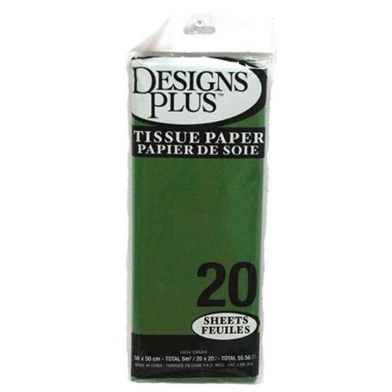 Christmas Tissue Paper - Green - 20's