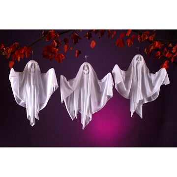 Halloween Hanging Ghost Decoration - 20 inches - Assorted