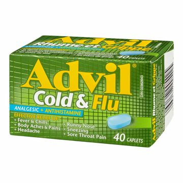 Advil Cold & Flu - 40's