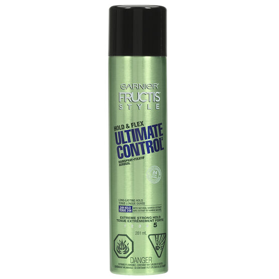 Garnier Fructis Style Hold & Flex Ultimate Control Spray - 281ml